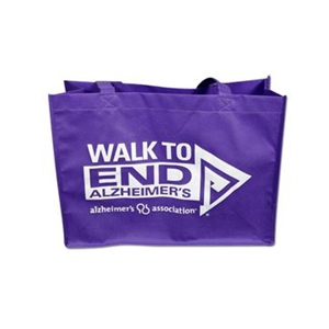 Walk Purple Tote Bag
