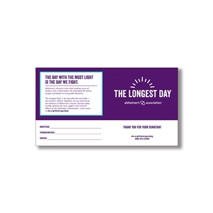 The Longest Day Collection Jar Label