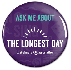 """Ask Me About The Longest Day"" Button"