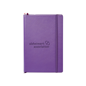 Alzheimer's Association Embossed Notebook