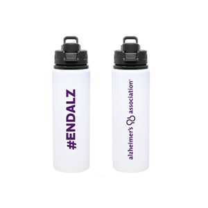 #ENDALZ Water Bottle
