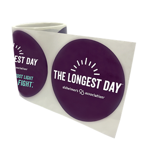 The Longest Day Sticker Rolls