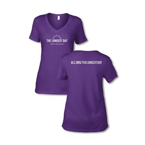 The Longest Day Ladies V-Neck T-Shirt