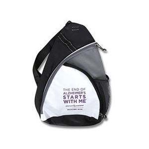 """The End of Alzheimer's Starts With Me"" One-Shoulder Backpack"