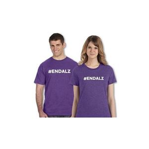 #ENDALZ Heathered Purple T-Shirt - Men's and Women's
