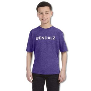 #ENDALZ Heathered Youth T-Shirt