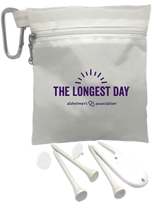 The Longest Day Zippered Golf Pack