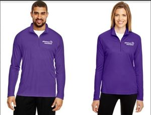 Alzheimer's Association Half Zip Pullover
