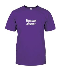 Volunteers Assemble T-Shirt